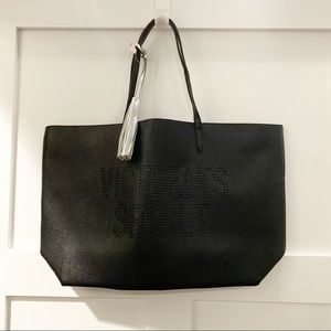 NWT {Victoria's Secret} Faux Leather Pebbled Tote
